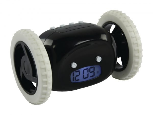 ALARM CLOCK WITH MOVING FUNCTION