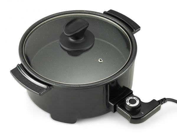Tigaie DELIMANO Electric High Pan Stone Expert